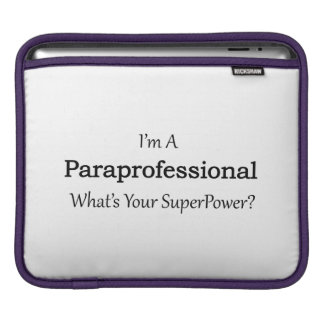 Paraprofessional Sleeve For iPads