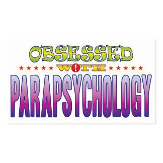 Parapsicología 2 obsesionada tarjetas de visita