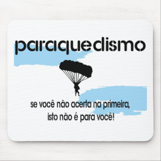 PARAQUEDISMO MOUSE PAD