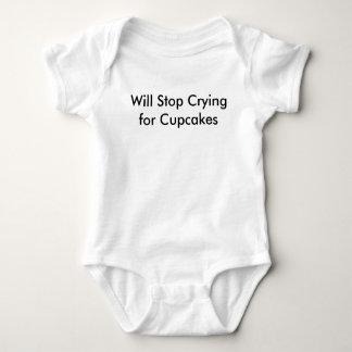 Parará el llorar para las magdalenas body para bebé