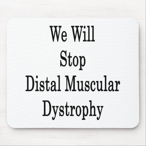 Pararemos distrofia muscular distal alfombrillas de ratón