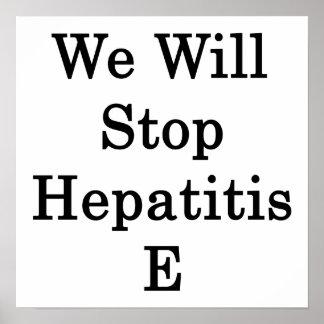 Pararemos la hepatitis E Impresiones
