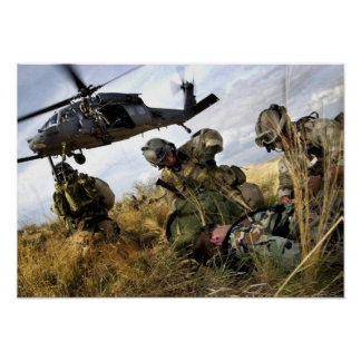 Pararescue Jumpers Poster