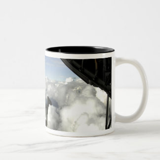 Pararescuemen jump out the back of a C-130 Coffee Mug
