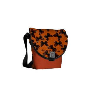 Pararge aegeria messenger bag