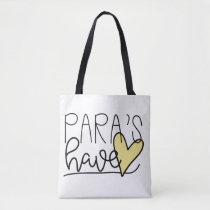 Para's Have Heart Tote