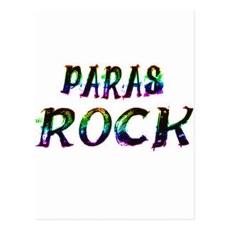 PARAS ROCK WITH COLOR POSTCARD