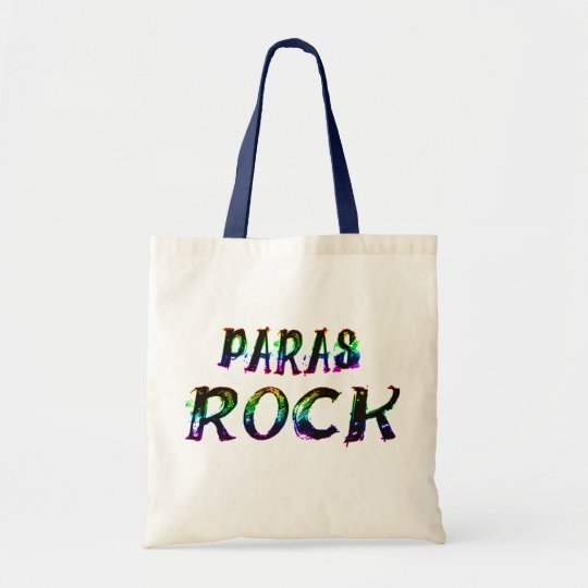 PARAS ROCK WITH COLOR TOTE BAG