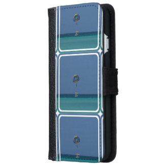 Parasailing colorido funda cartera para iPhone 6