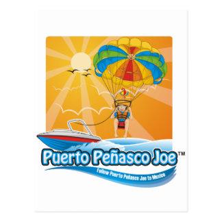 Parasailing en México Tarjeta Postal