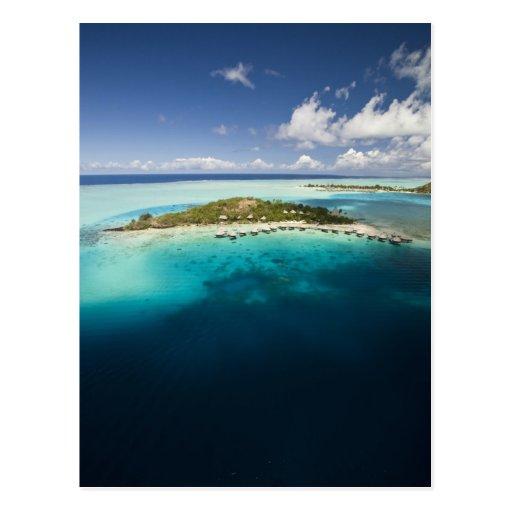 Parasailing over the beautiful lagoon of Bora Postcards