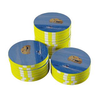 Parasailing Set Of Poker Chips