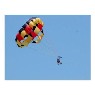 parasailing postcards