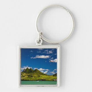 Parasailing within View of impressive Lion Keychain