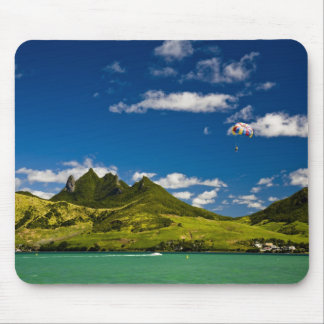Parasailing within View of impressive Lion Mouse Pad