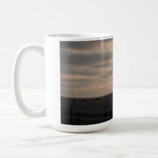 Parasailor over Marina del Rey at Sunset Coffee Mug
