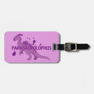 Parasaurolophus Bag Tag