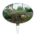 Parasaurolophus Dinosaur Cake Pick