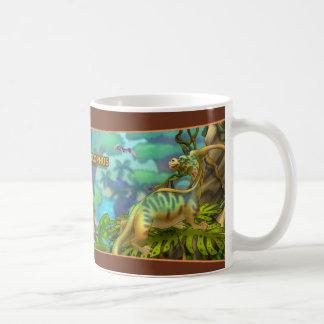 Parasaurolophus Dinosaur Coffee Mug