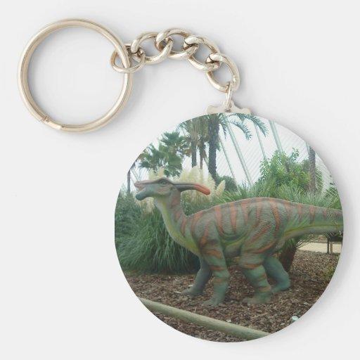 Parasaurolophus Dinosaur Keychain