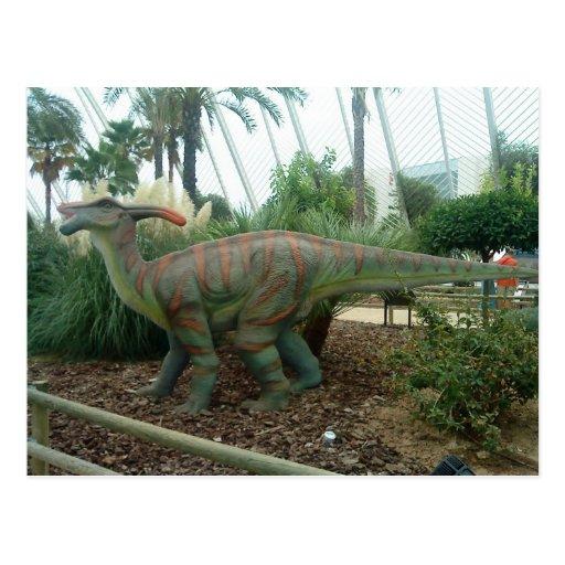 Parasaurolophus Dinosaur Postcard