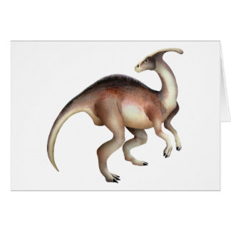 Parasaurolophus Felicitación