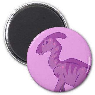 Parasaurolophus 2 Inch Round Magnet