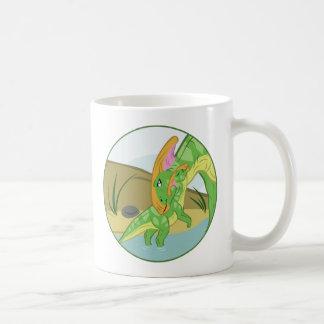 Parasaurolophus Mom and Baby Coffee Mug