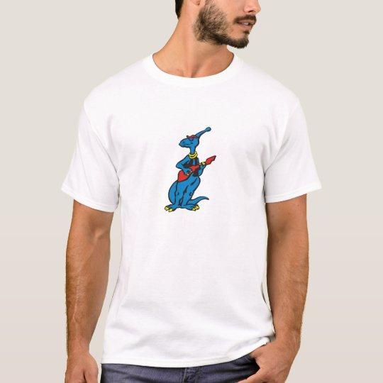 Parasaurolophus - Rocking a Bass Guitar! T-Shirt