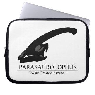 Parasaurolophus Skull Computer Sleeve