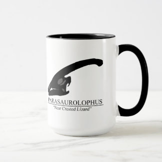 Parasaurolophus Skull Mug