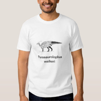 Parasaurolophusskelwalklarge, Parasaurolophus w... T-Shirt