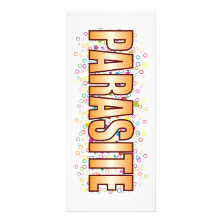 Parasite Bubble Tag Personalized Rack Card