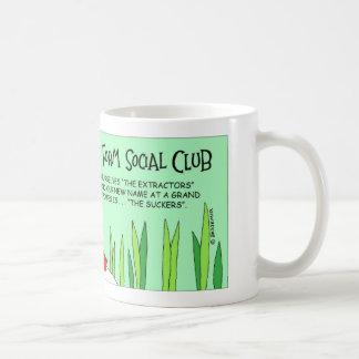 Parasite social club coffee mug