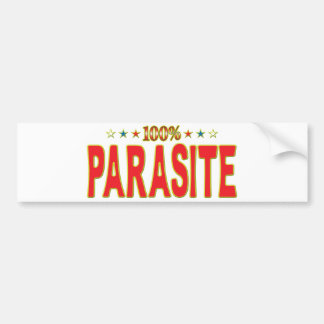Parasite Star Tag Bumper Stickers