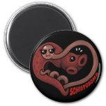 PARASITES: Blood Flukes (schistosoma) Refrigerator Magnet