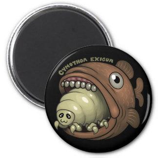 PARASITES: Cymothoa exigua Fridge Magnets