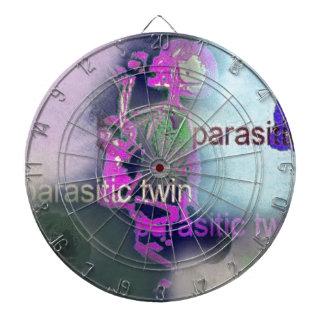 Parasitic CD Cover.(purple) Dartboards
