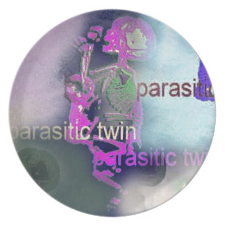 Parasitic CD Cover.(purple) Party Plate