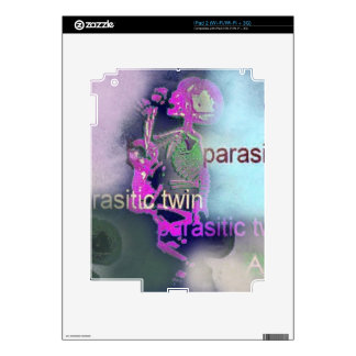 Parasitic CD Cover.(purple) Skins For iPad 2