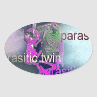 Parasitic CD Cover.(purple) Stickers