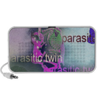 Parasitic CD Cover.(purple) Travelling Speaker