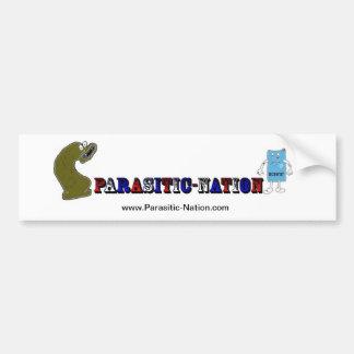 Parasitic-Nation bumper sticker