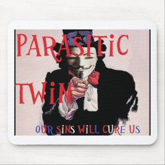 Parasitic Twin Band Mouse Pad