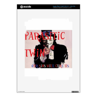 Parasitic Twin Band Decal For iPad 3