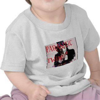 Parasitic Twin Band Tee Shirt