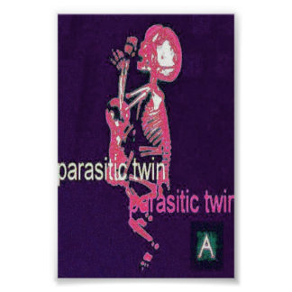 Parasitic Twin(Poster) Purple