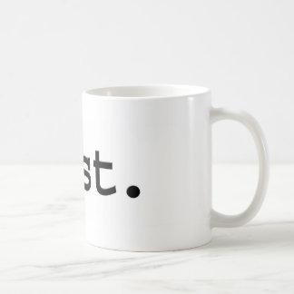 parásito taza de café