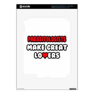Parasitologists Make Great Lovers iPad 3 Skin