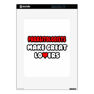 Parasitologists Make Great Lovers Decals For iPad